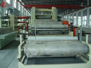 Artificial leather PVC Calender Machine High Precision / 4 roll calendering machine